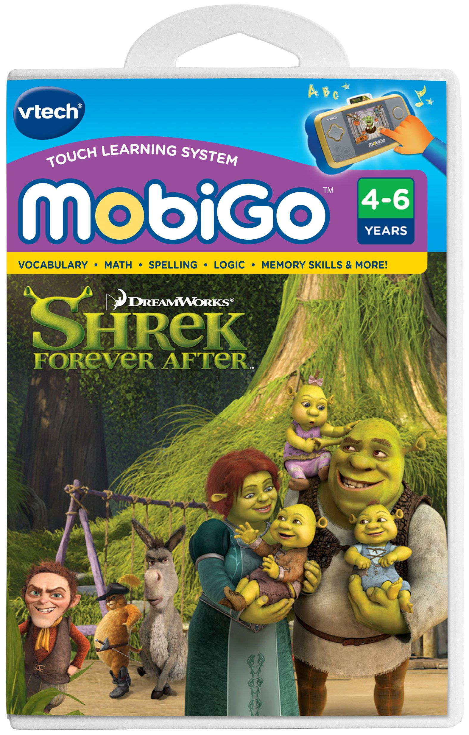 VTech - MobiGo Software - Shrek 4 Forever After