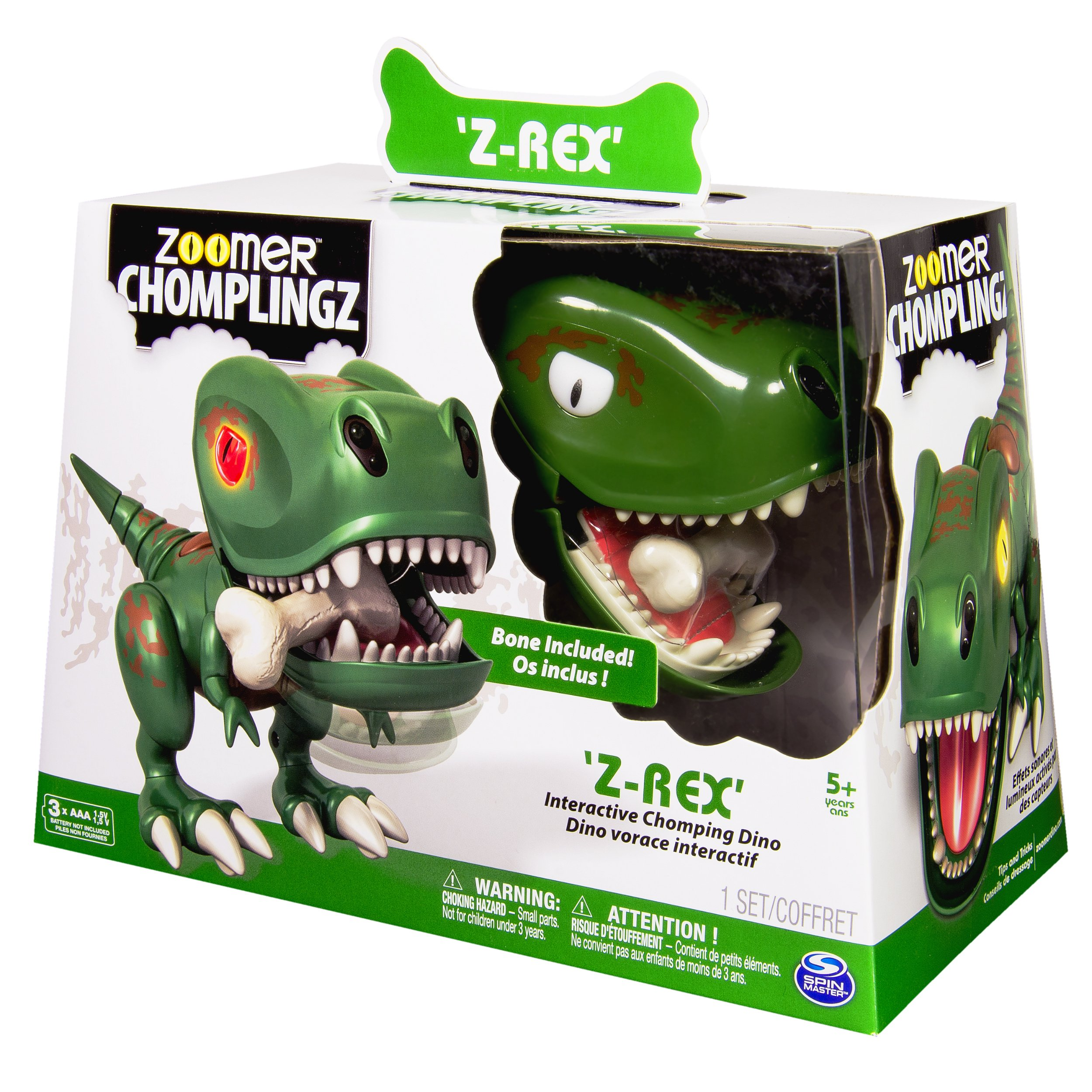 Zoomer Chomplingz – Z-Rex Interactive Dinosaur by zoomer (Image #3)