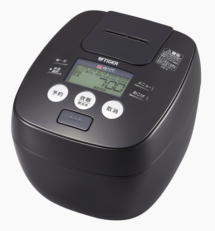 Tiger rice cooker 5.5 Go pressure IH urban black cooked rice cooker JPB-H102-KU Tiger