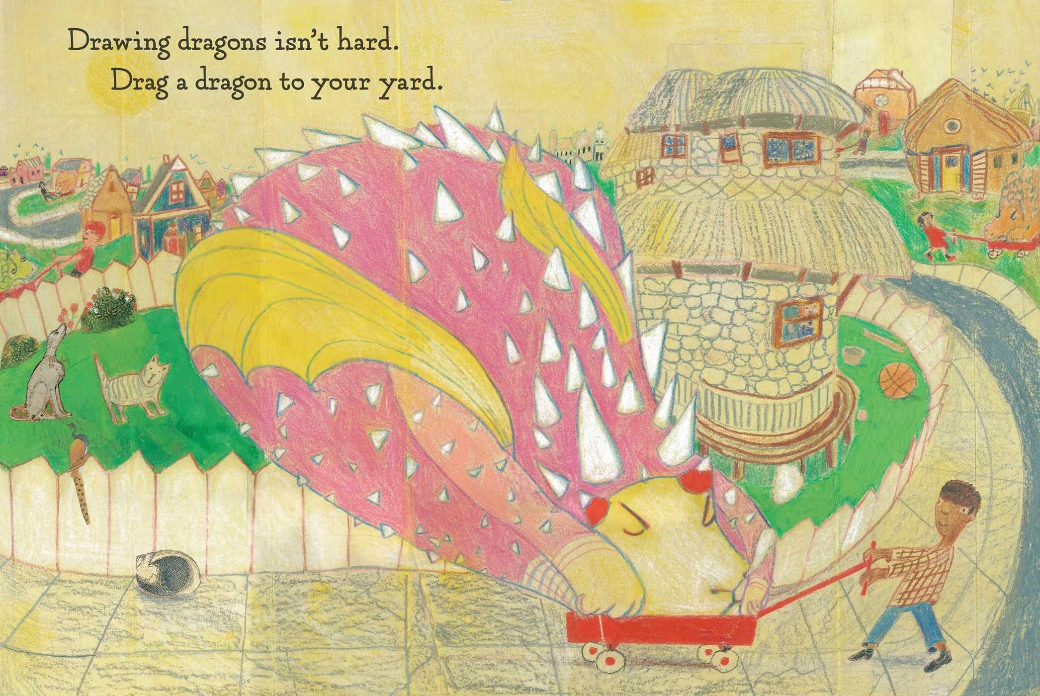 How to draw a dragon douglas florian amazon com au books