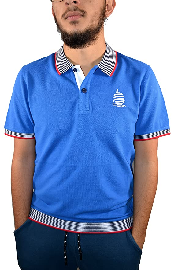 Marina Yachting - Polo 83193 (739) S/S, Uomo, Man, Herren, Homme  (xxx-large): Amazon.co.uk: Clothing