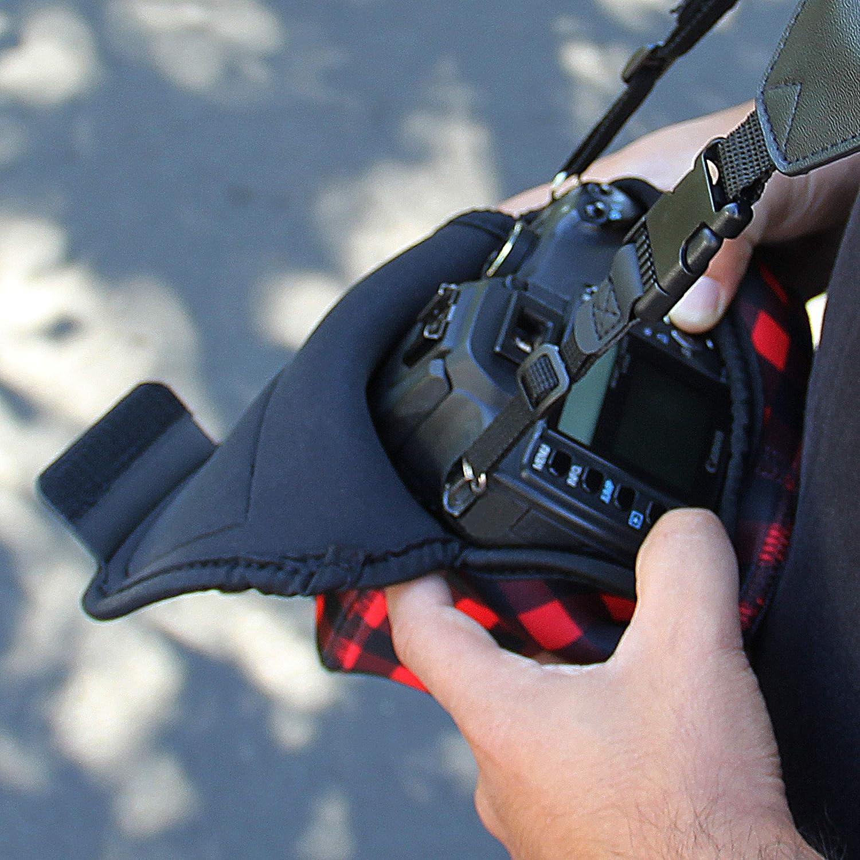 Geometrishes Nikon D3400 und mehr Kompatibel mit Canon EOS 1300D//200D USA Gear Kameratasche f/ür Spiegelreflexkameras: Kamera-Schutzh/ülle aus hochwertigem Neopren f/ür DSLR//SLR mit Zubeh/örtasche