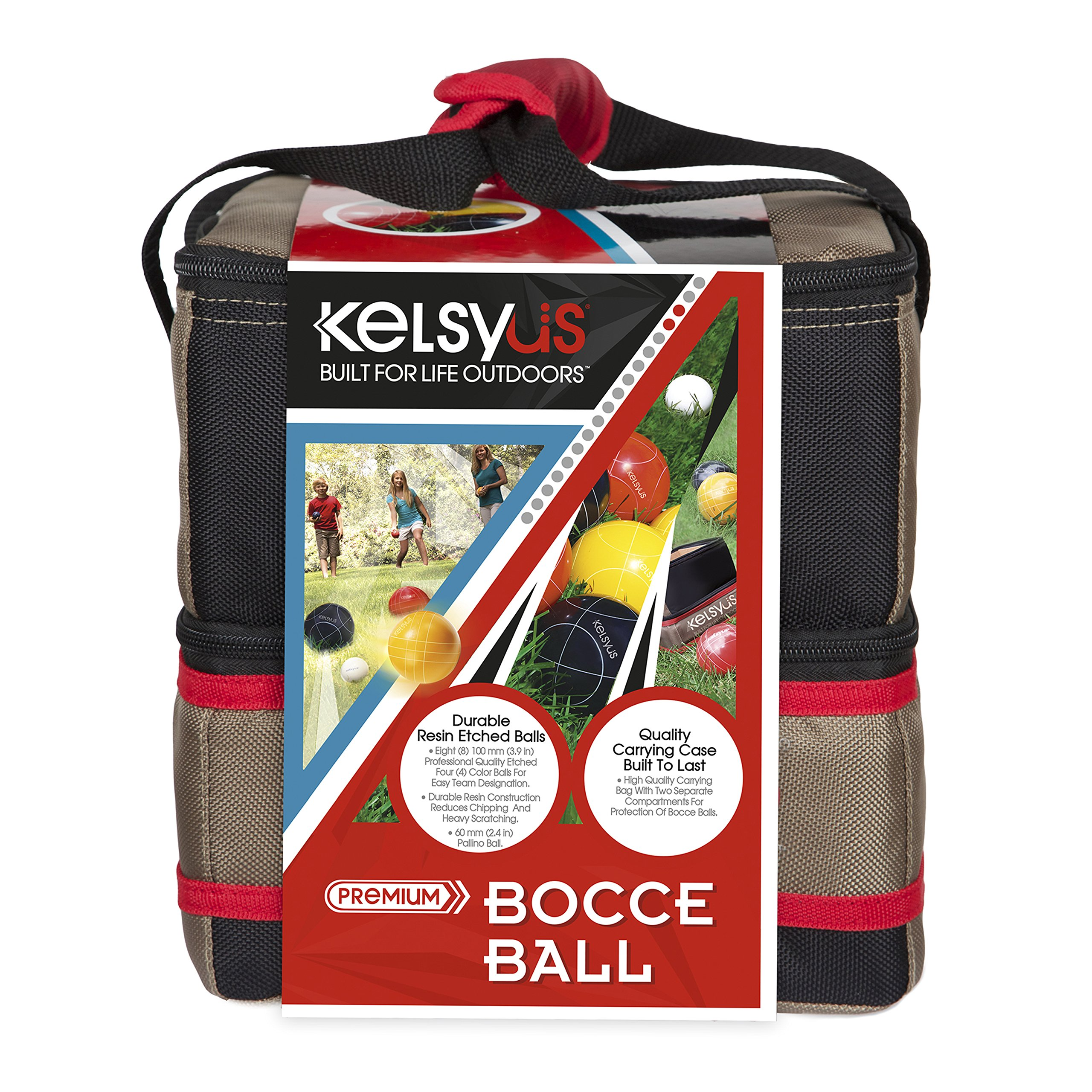 Kelsyus Premium Bocce Ball Game by Kelsyus (Image #4)