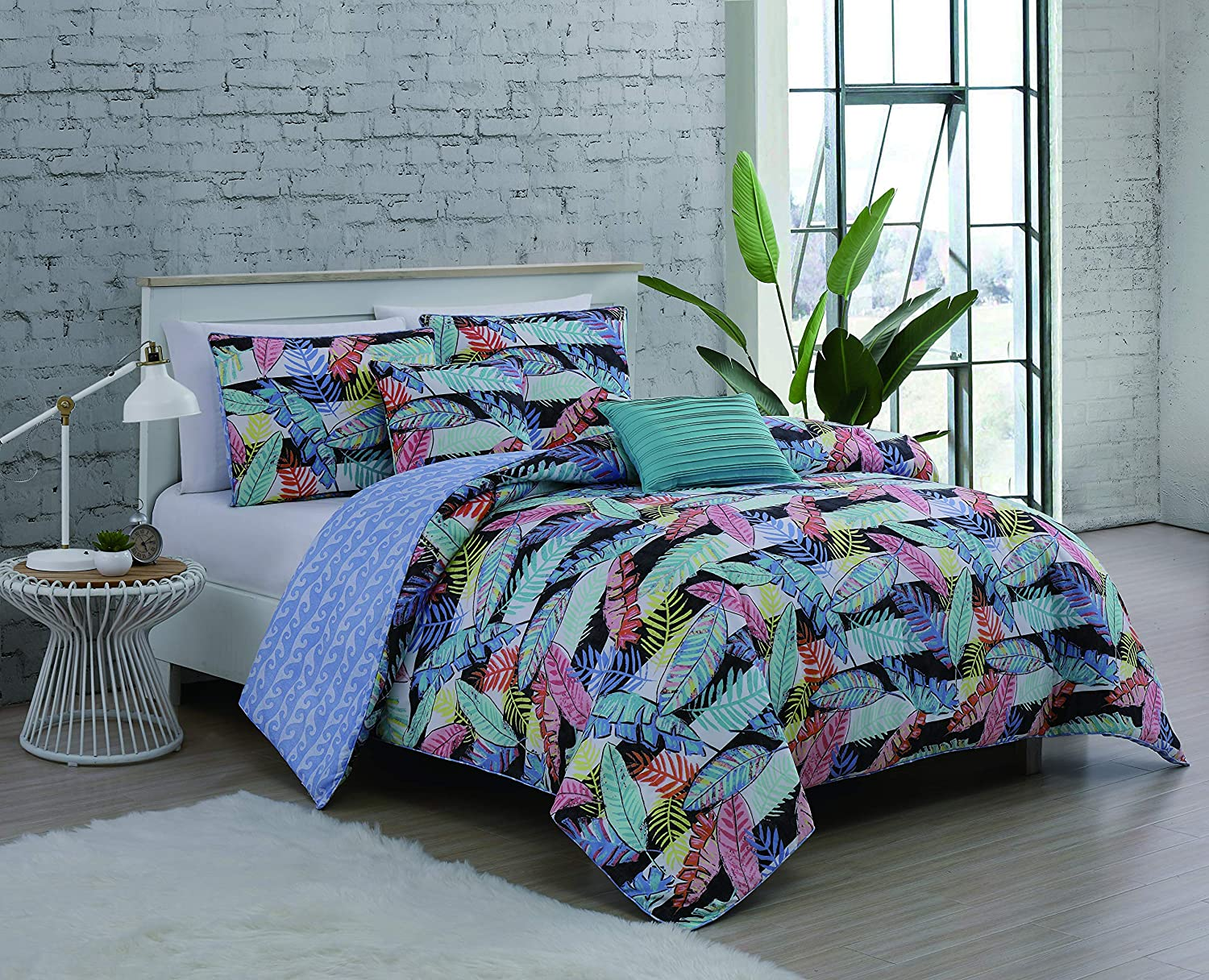 Geneva Home Fashion Bellamy Comforter Set King Multicolor
