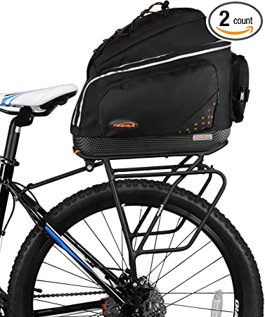 Rear Seat  Cycling Commuter Carrier Storage NEW BA1 Ibera Bicycle Trunk Bag