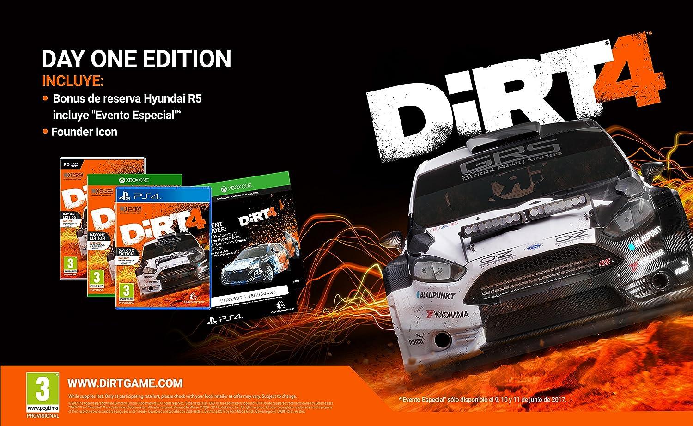 Dirt 4 - Day One Edition: Amazon.es: Videojuegos
