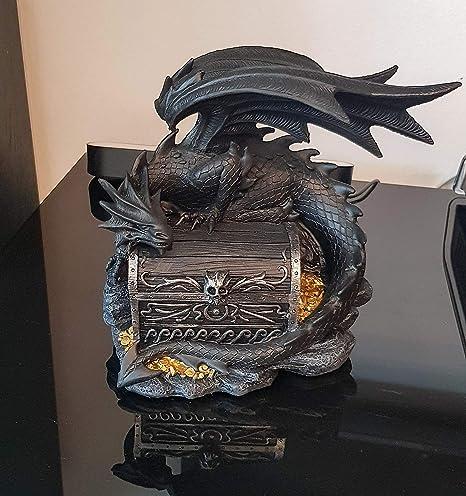 Kremers Tirelire XXL en polyr/ésine Motif dragon 21 cm