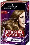 Schwarzkopf Keratin Hair Color, Cashmere Brown 5.5, 2.03 Ounce