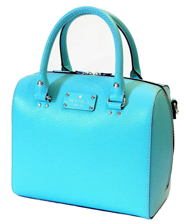 Kate Spade Wellesley Alessa Giverny Blue Handbag WKRU1743