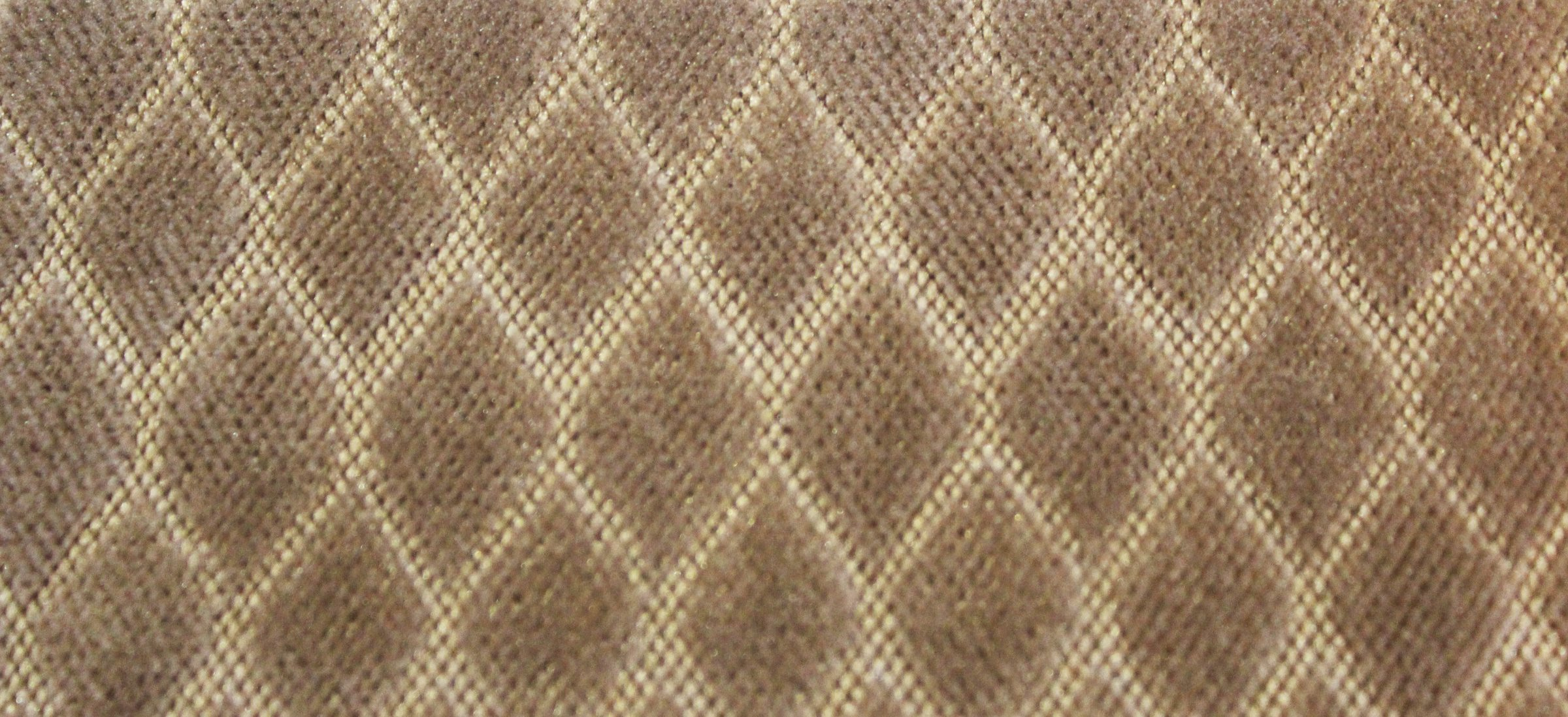 Sure Fit Stretch Royal Diamond 2-Piece - Loveseat Slipcover  - Taupe (SF43404) by Surefit (Image #2)