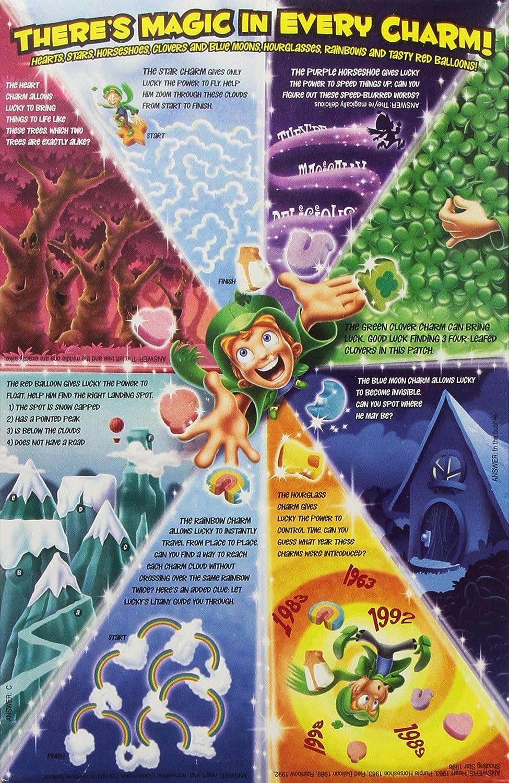 Lucky Charms - Tostado avena cereales con nubes 297 G caja: Amazon.es: Alimentación y bebidas