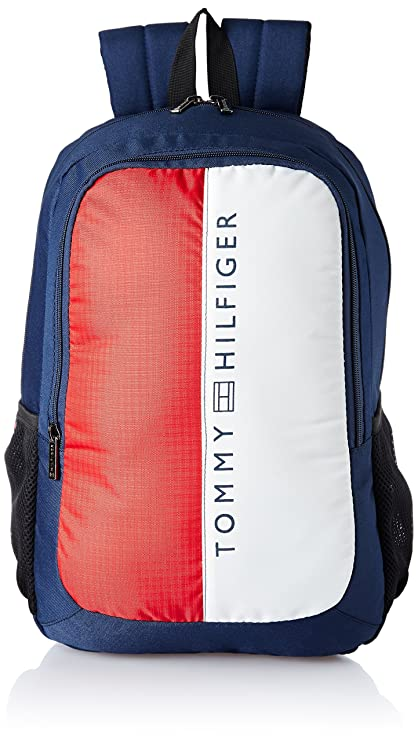 1233f0f443e Tommy Hilfiger 19.53 Ltrs Navy Laptop Backpack (TH/BIKOL08HRP): Amazon.in:  Bags, Wallets & Luggage