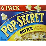Pop-Secret Popcorn, Butter, 3.2oz, 6-Count