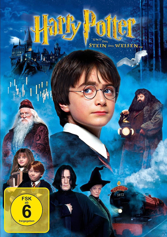 Harry Potter 1 Stein Der Weisen Amazon Co Uk Dvd Blu Ray