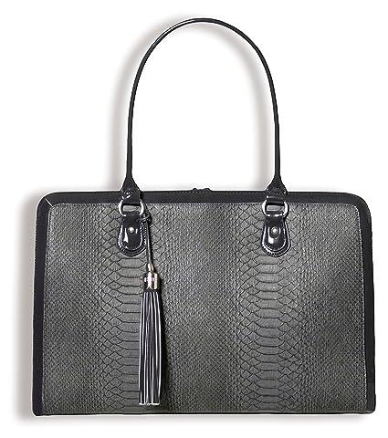 009b25570c1c Amazon.com  BFB Briefcase Computer Bag - Handmade 17 Inch Laptop Bag ...