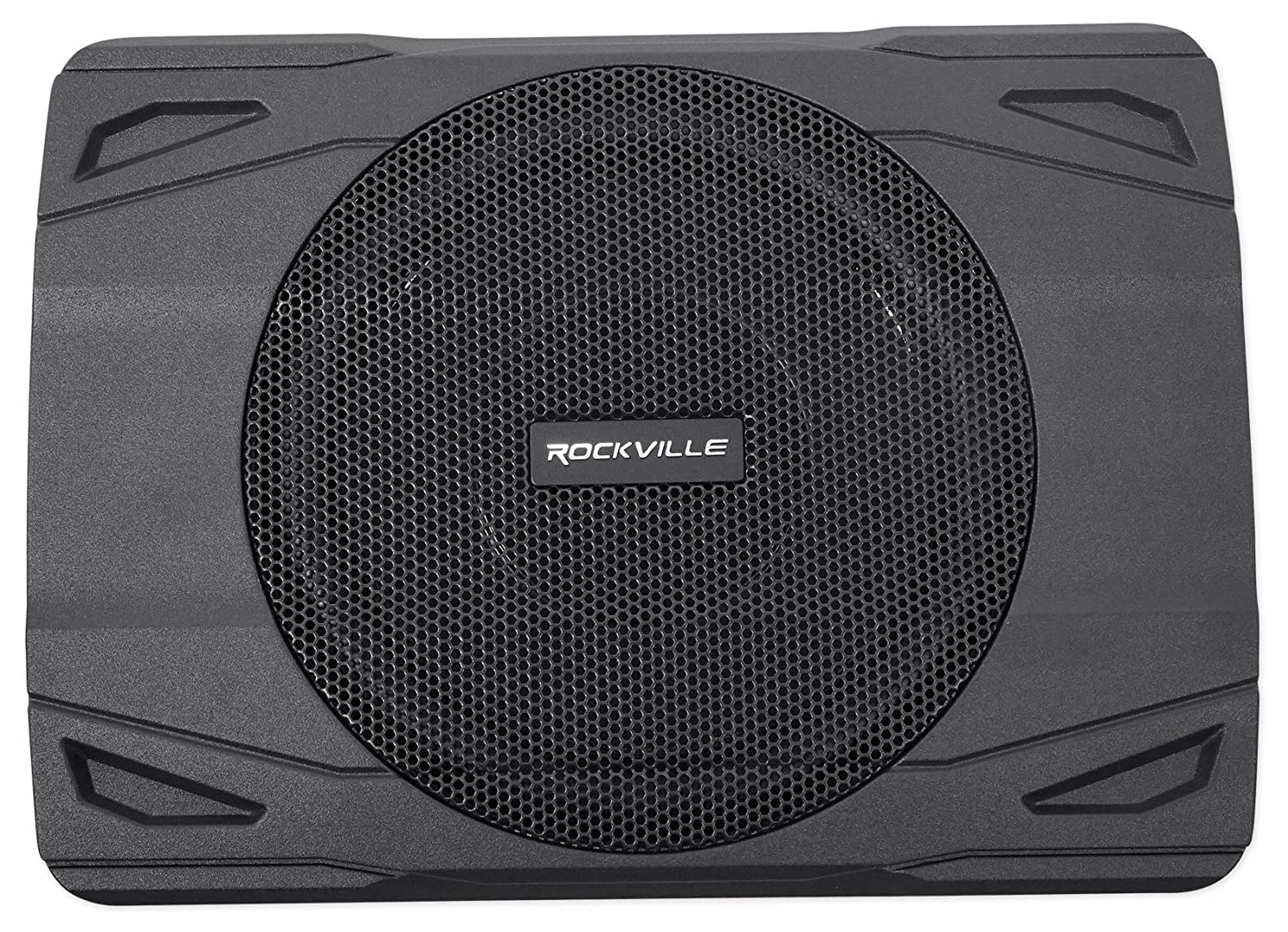 Rockville Ss8p 400w 8 Cast Aluminum Slim Under Seat Circuitgreen Actual Circuit Red Linkwitzriley Crossover Active Powered Car Truck Subwoofer Sub Cell Phones Accessories