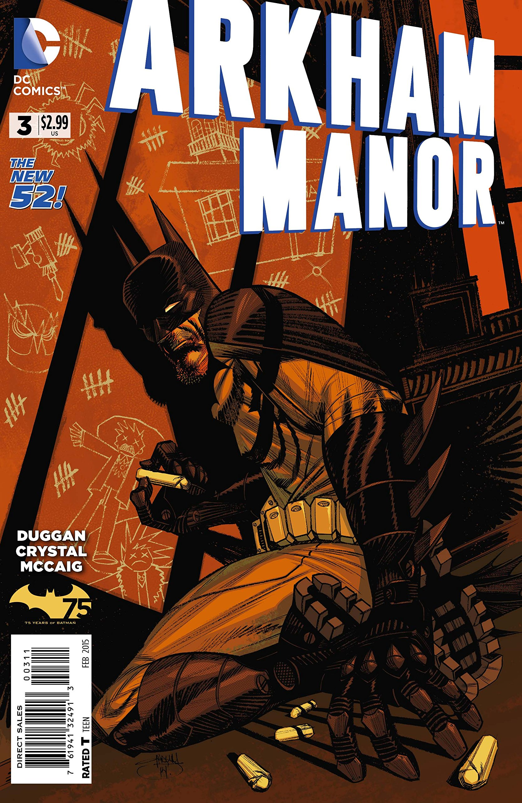 Read Online Arkham Manor #3 ebook
