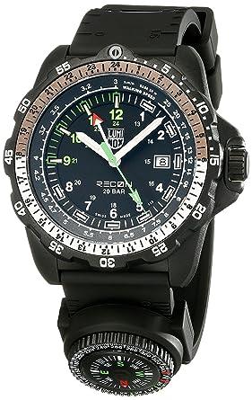 Luminox hombre 8831. KM Recon NAV analógico de cuarzo negro reloj: Amazon.es: Relojes