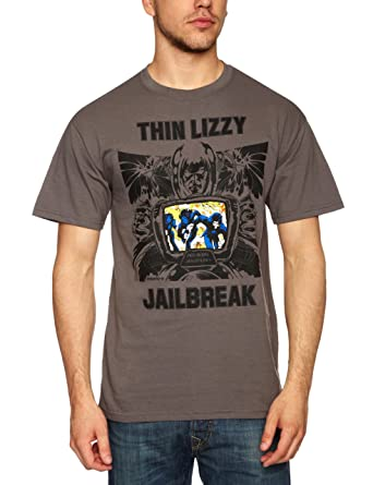 Thin Lizzy Classic Logo Mens T-Shirt Plastic Head Outlet Store Locations Discount For Nice Shop Offer Cut-Price Extremely EB6akoMbo