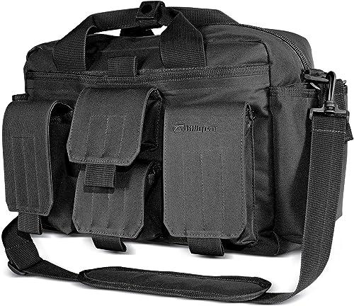 910099 Kiligear Concealed Carry Tactical Modular Response Bag – Black,