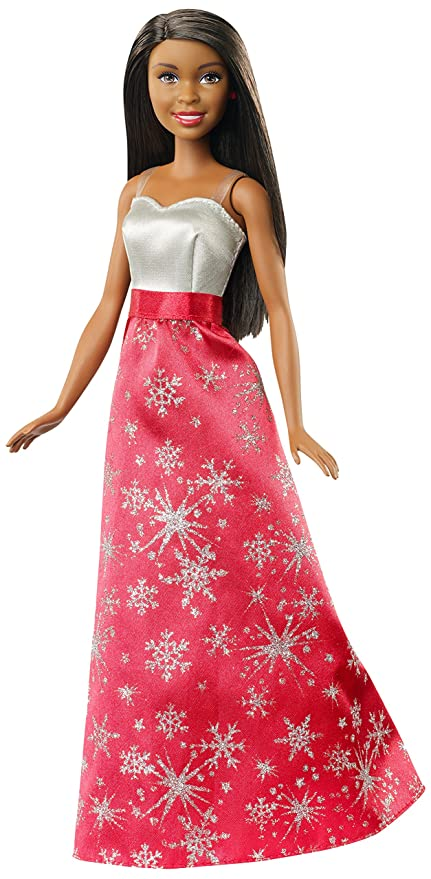 Amazon Barbie Black Hair Holiday Doll Toys Games