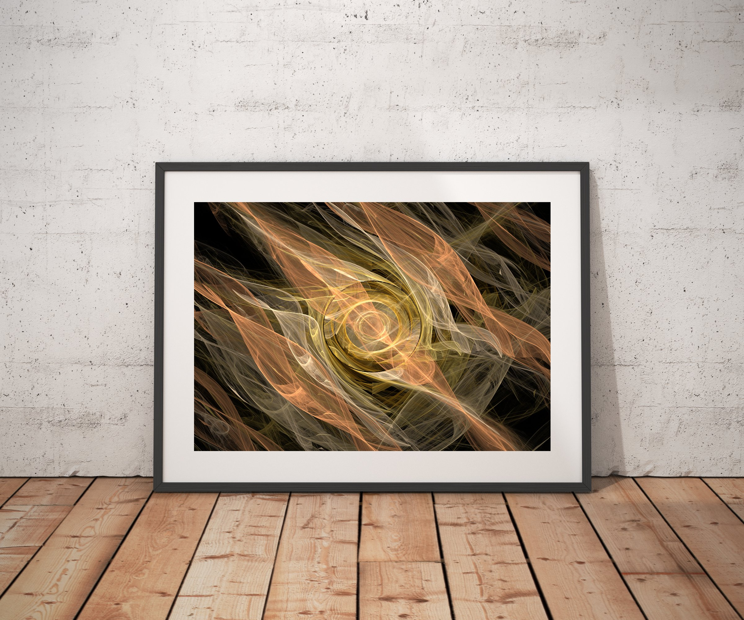 The Flames Abstract digital art
