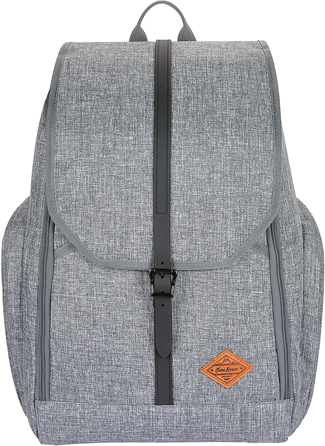JuneHouse MM Fashion Men Women laptop backpack Fit Up to 15 Inch Laptop