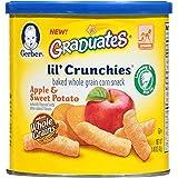 Gerber Graduates Lil' Crunchies, Apple Sweet Potato, 1.48 Ounce