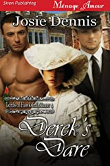 Derek's Dare [Lords of Hawksfell Manor 4] (Siren Publishing Menage Amour) Kindle Edition