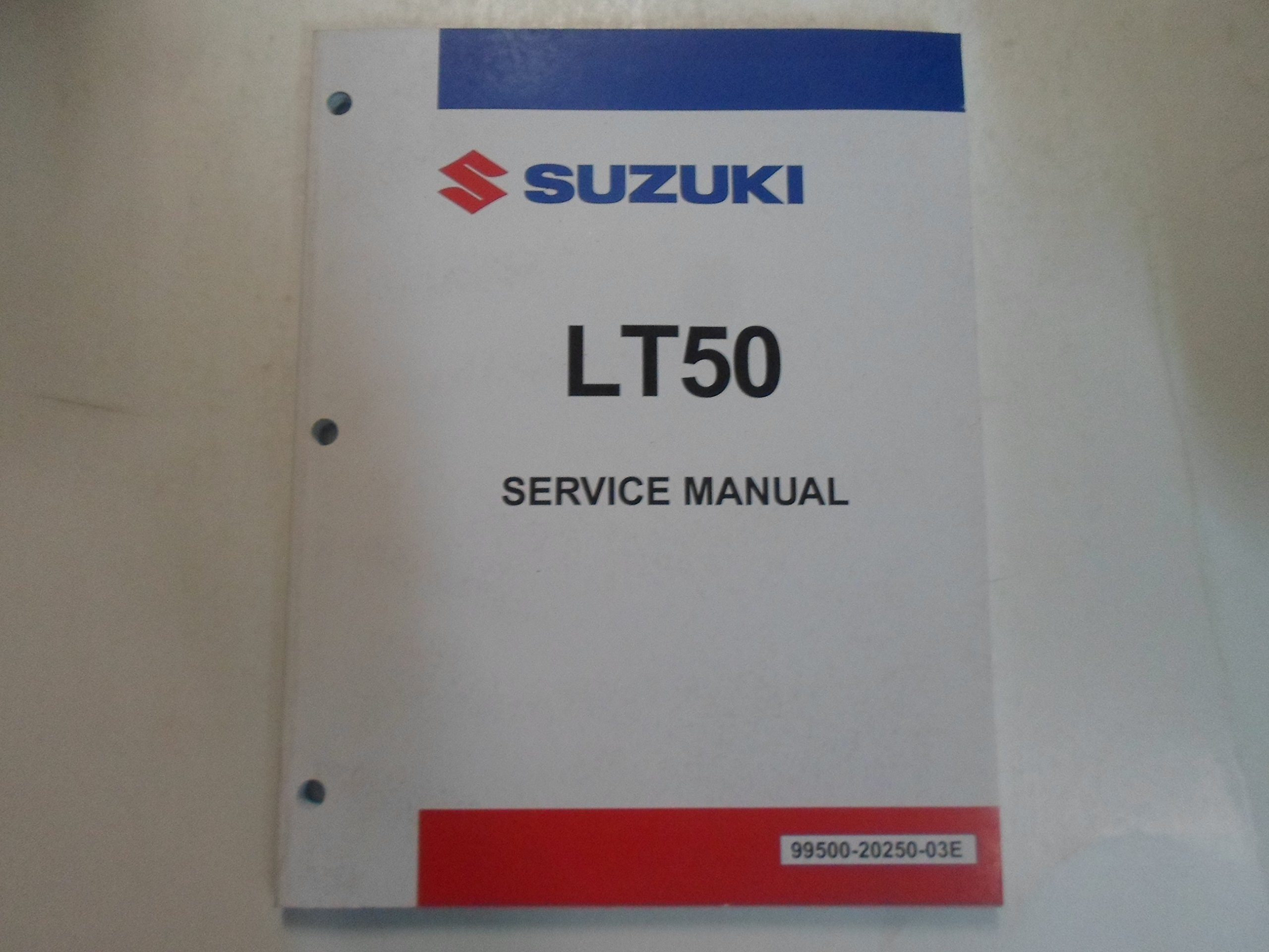 1985 Suzuki LT50 Service Repair Shop Manual STAINED FACTORY OEM BOOK 85  DEAL: SUZUKI: Amazon.com: Books