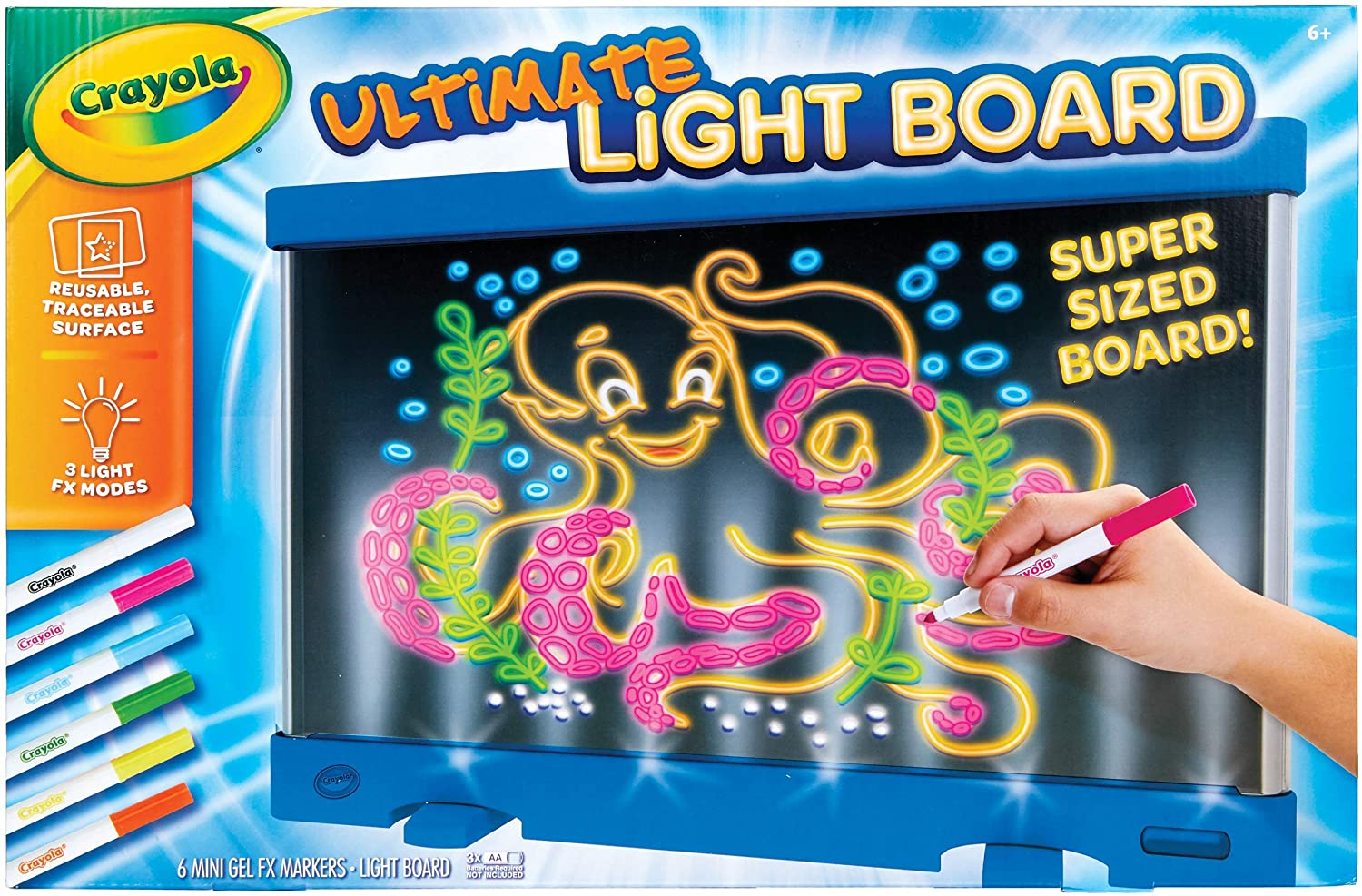 Crayola Ultimate Light Board Drawing Tablet for Kids