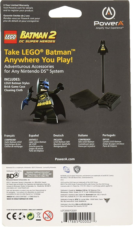 Amazon.com: Nintendo Ds Lego Batman Stylus Set: Video Games