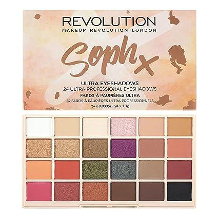 Makeup revolution eyeshadow palette x soph extra spice