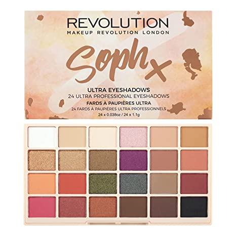 Makeup Revolution Soph Eyeshadow Palette, 26.4g Make-up Palettes at amazon