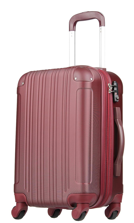 【レジェンドウォーカー】LEGEND WALKER スーツケース 容量拡張 TSAロック 超軽量 マット加工 ファスナー開閉 5082 B01GTEB8MO Sサイズ(3~5泊/47(拡張時56)L)|ワインレッド ワインレッド Sサイズ(3~5泊/47(拡張時56)L)