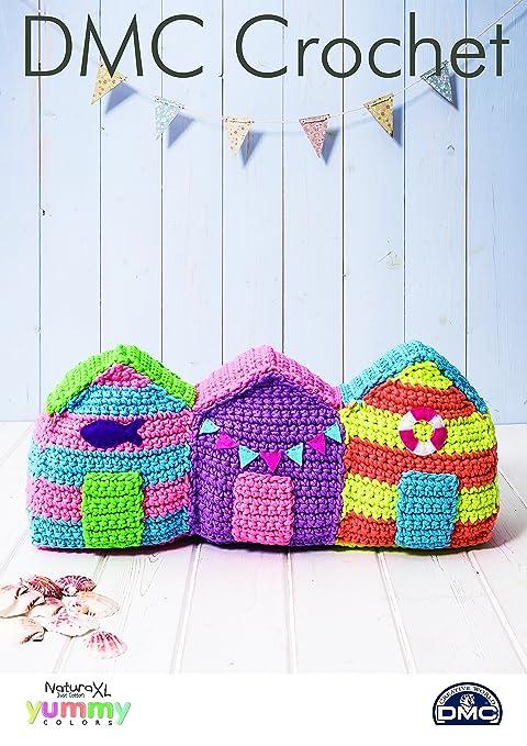 DMC Crochet patrón tope para puerta de casetas de playa