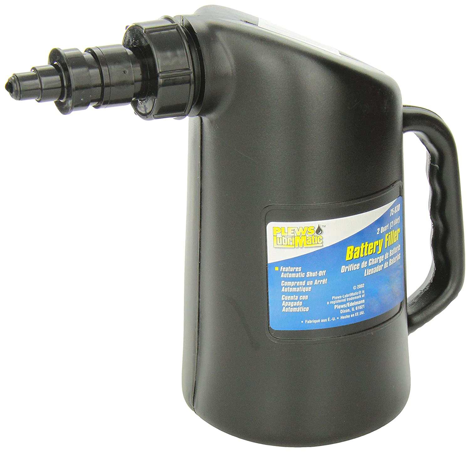 LubriMatic 75-030 2 Quart Professional Battery Filler with Automatic Shut Off