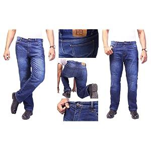 Un no-nonsense straight fit Kevlar Jeans pour les motards. Jeans Kevlar motards. Motorcycle Motorbike bikers Kevlar Jeans