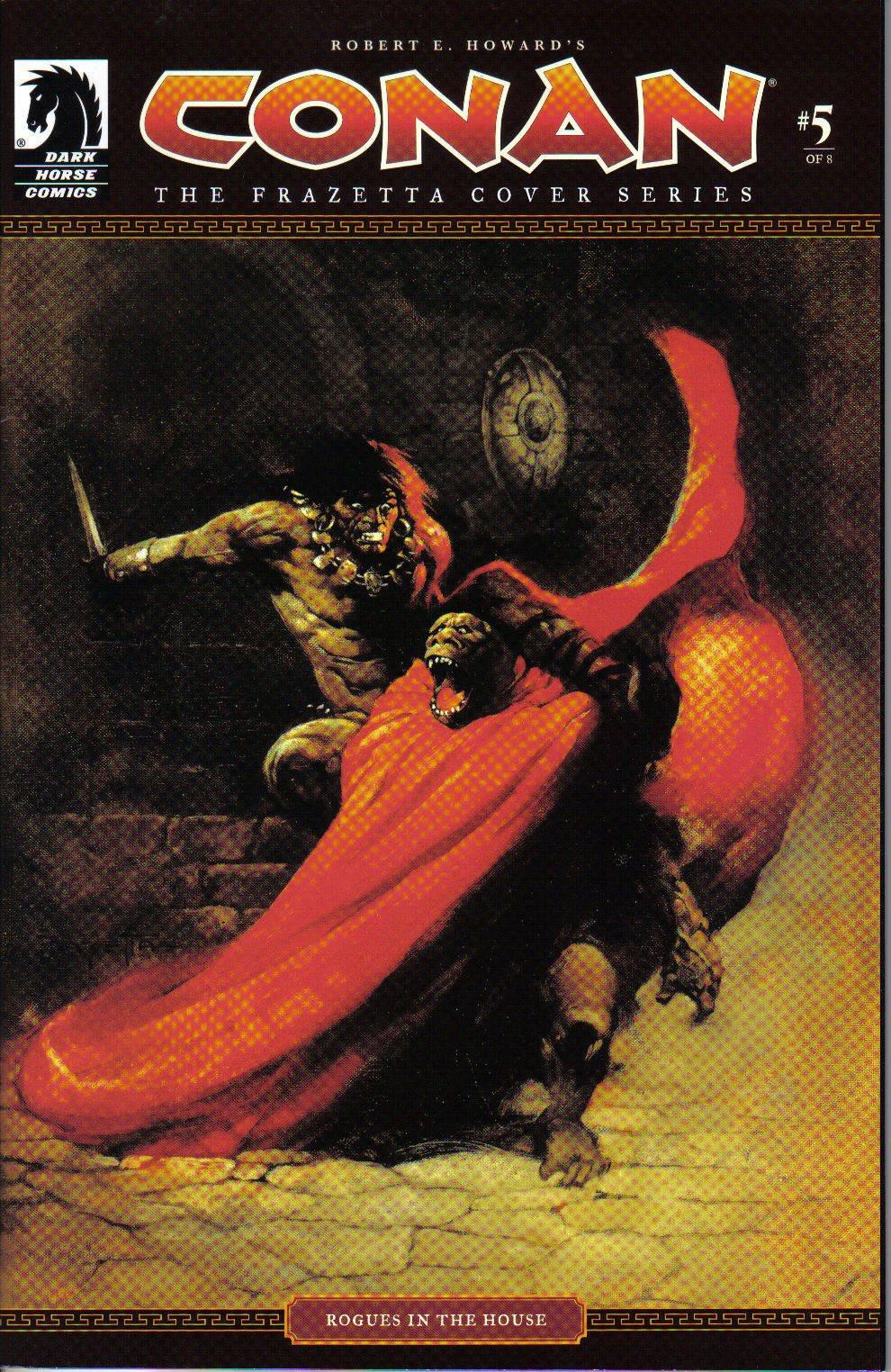 Robert E Howard's Conan No. 5 of 8 The Frazetta Cover Series PDF