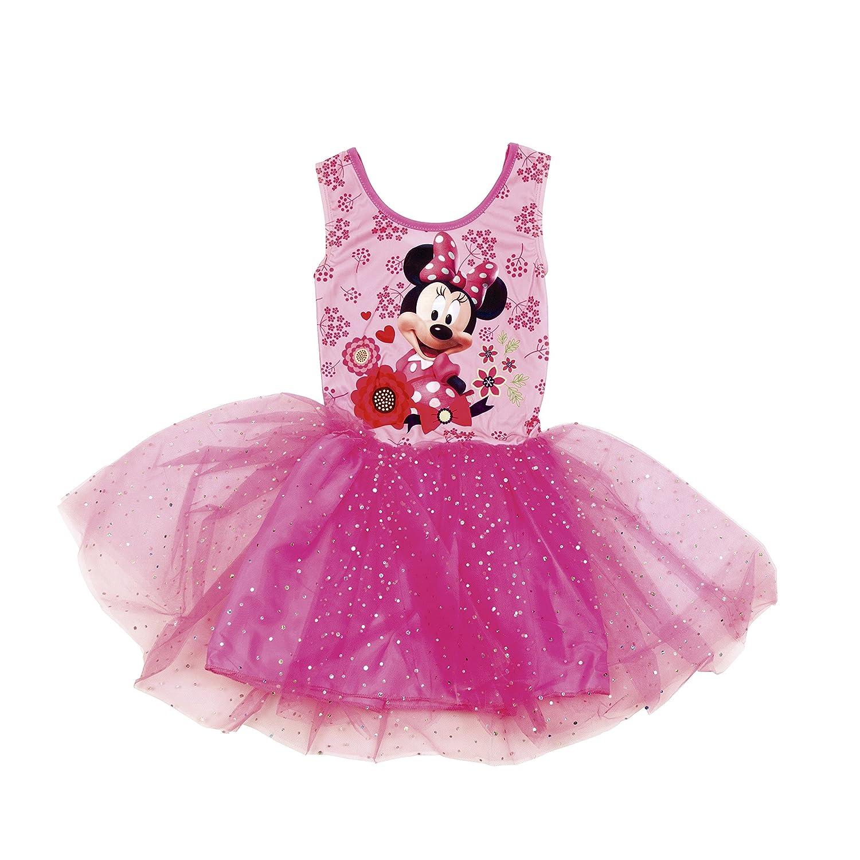 Disney Minnie Mouse Abito a maniche corte con glitter WD9513