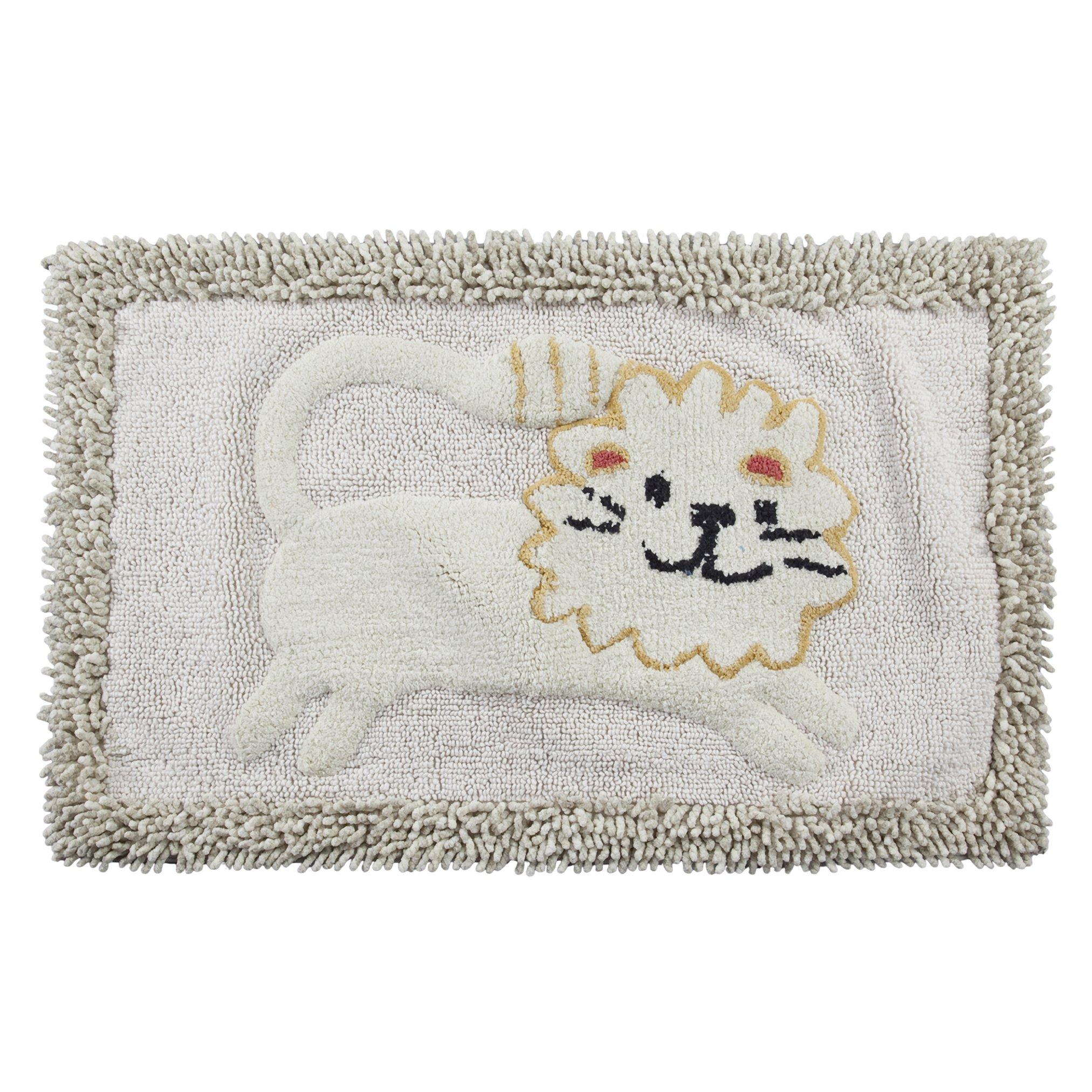 Creative Bath Products Animal Crackers Bath Rug