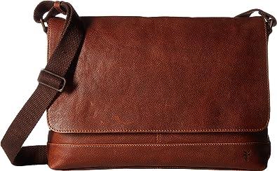 959404f9e4438 Amazon.com  Frye Men s Owen Messenger Cognac One Size  Shoes