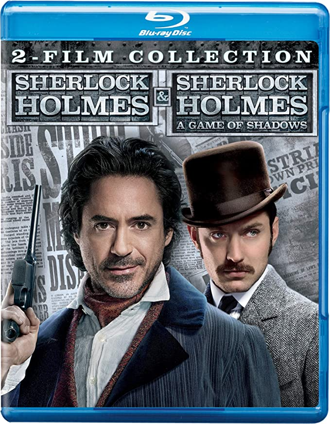 Sherlock Holmes 2 Movies Collection Sherlock Homes A Game Of Shadows Part 1 2 2 Disc Amazon In Robert Downey Jr Rachel Mcadams Jude Law Mark Strong Noomi Rapace Eddie Marsan Jared