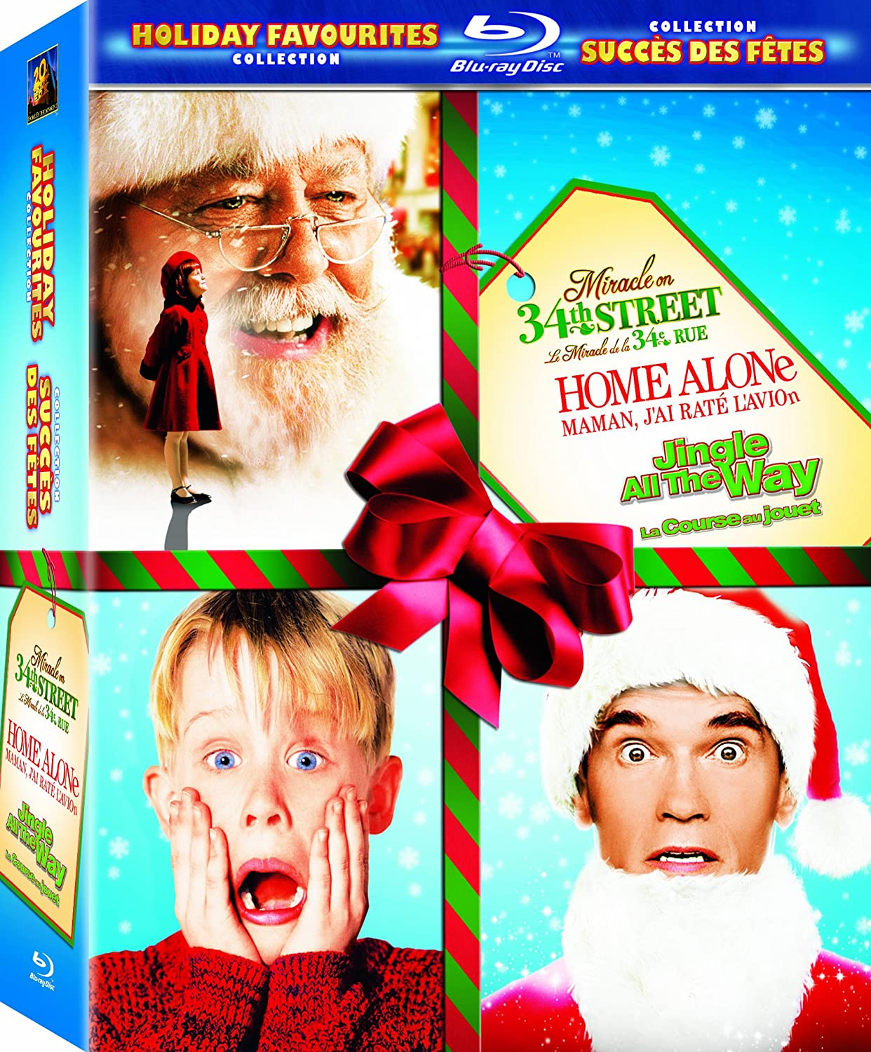 Christmas Favorites Collection: Miracle on 34th Street / Home Alone / Jingle All the Way