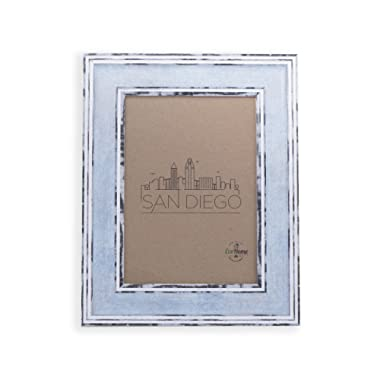 5x7 Picture Frame - Distressed Blue 5 x 7 Photo Frames by EcoHome