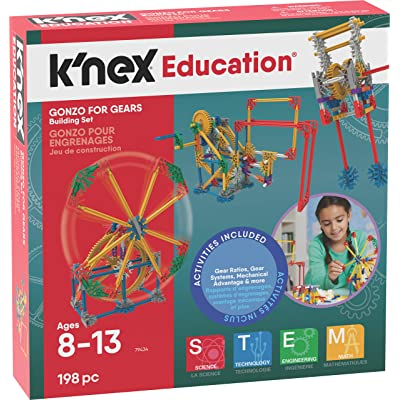 K'NEX Gonzo For Gears Ages 8+ Engineering Education Toy Building Sets (198 Piece) ( Exclusive): Toys & Games
