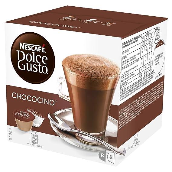 NESCAFÉ Dolce Gusto Café Chococino, Pack de 3 x 16 Cápsulas - Total: 48
