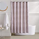 AmazonBasics Wheeler Shower Curtain - 72 Inch