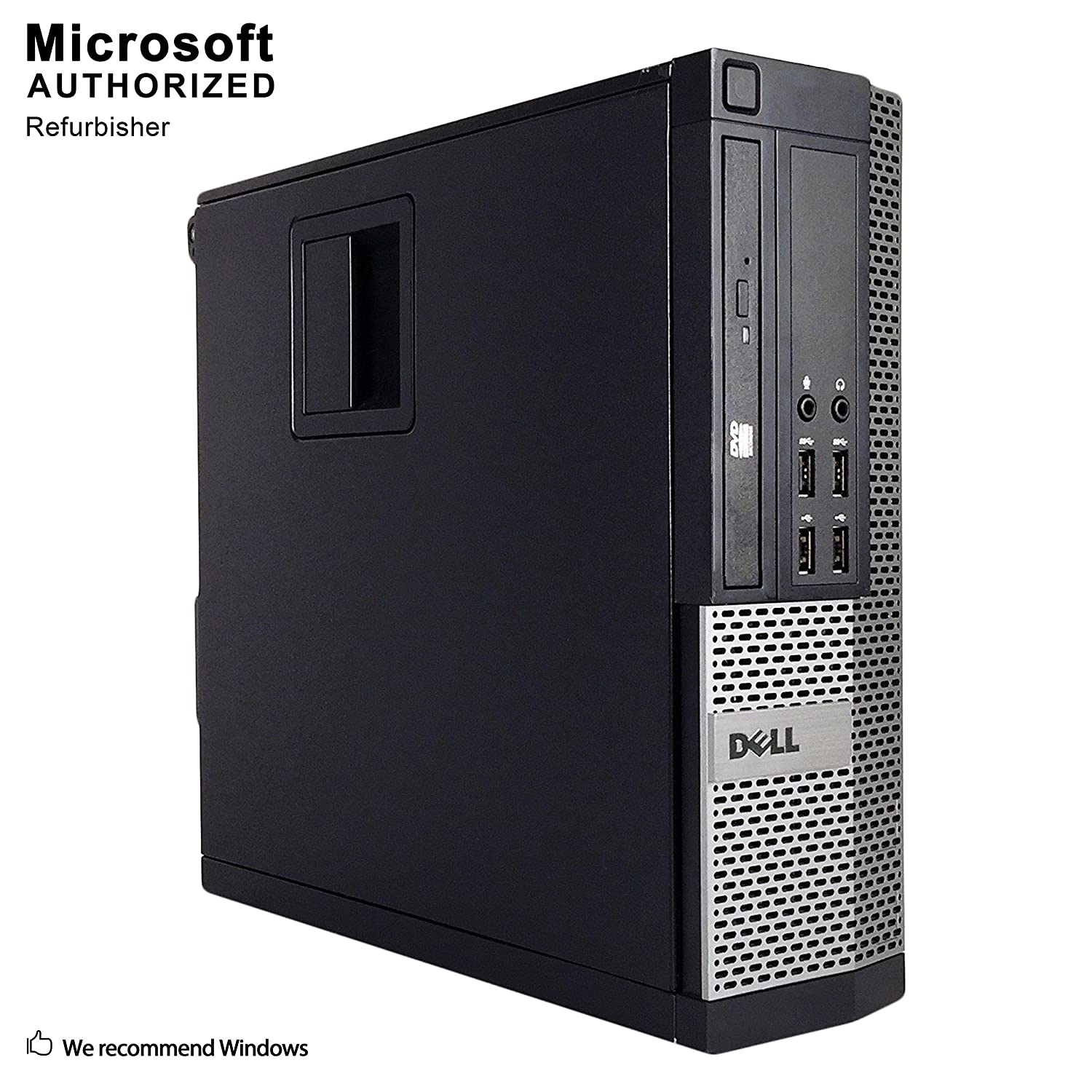 2018 DELL OPTIPLEX 7020 SFF Desktop Computer,Intel Core I5-4570 3.2GHz up to 3.6GHz, 16GB DDR3, 2TB HDD, DVD, WIFI, HDMI, VGA, Display Port, USB 3.0, Bluetooth 4.0, Win10Pro64 (Renewed)