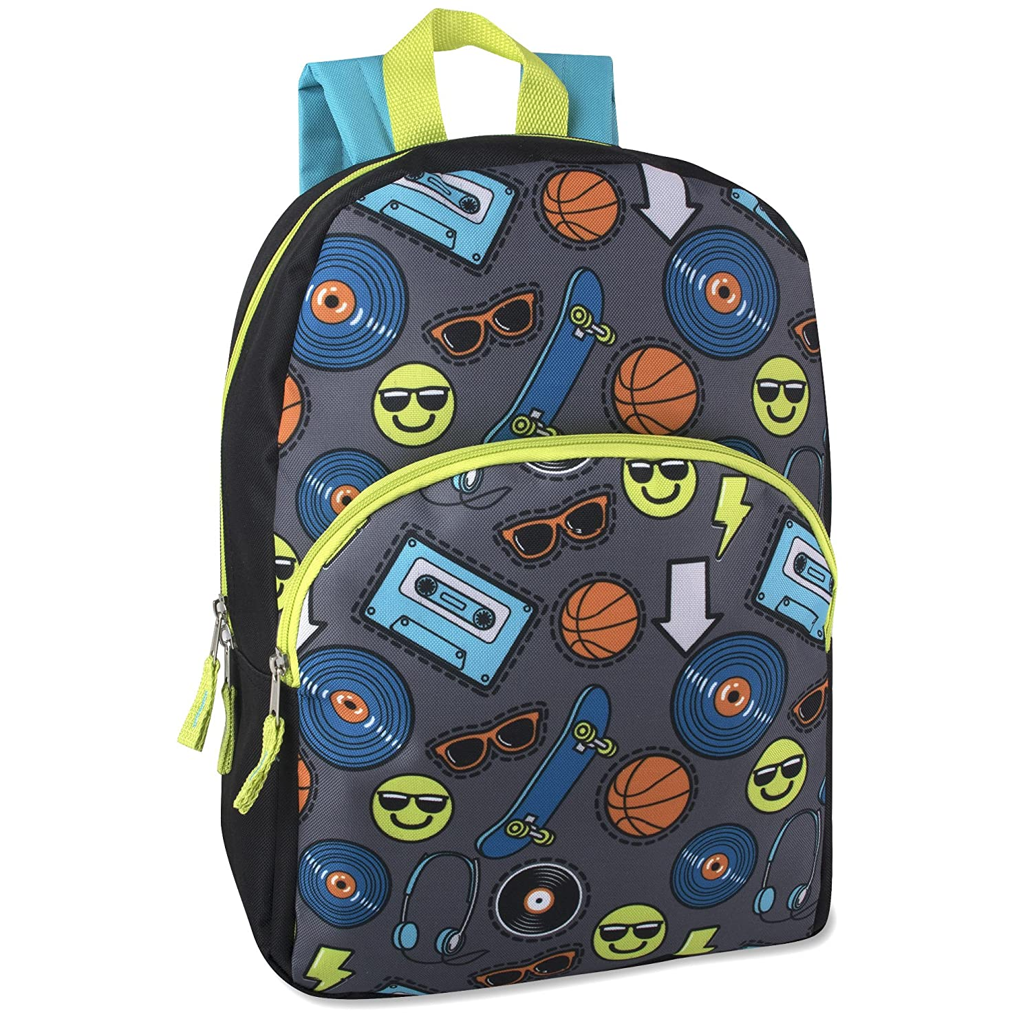 Trail maker Character Backpack (15') with Fun Fashionable Design for Boys & Girls… Trailmaker